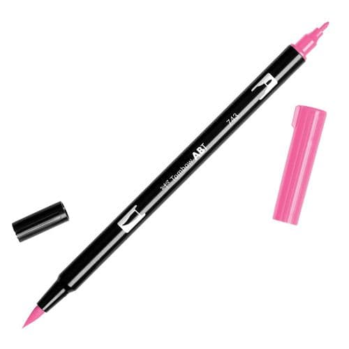 Tombow - ABT Dual Brush Pen - 743 Hot Pink