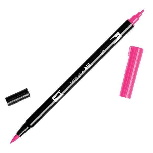 Tombow - ABT Dual Brush Pen - 755 Rubine Red