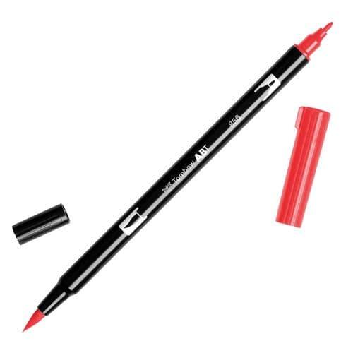 Tombow - ABT Dual Brush Pen - 856 Poppy Red