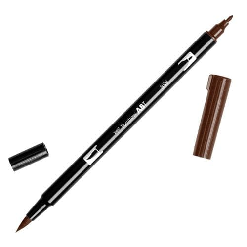 Tombow - ABT Dual Brush Pen - 899 Redwood