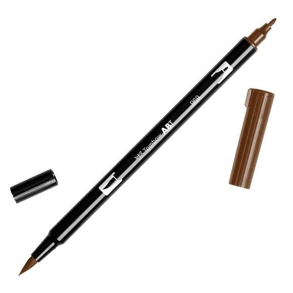 Tombow - ABT Dual Brush Pen - 969 Chocolate