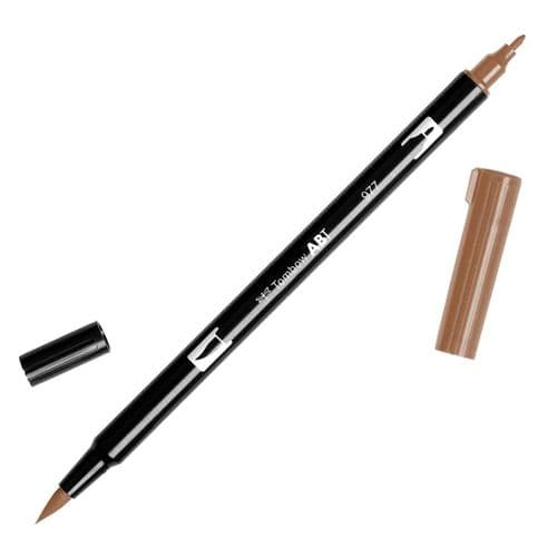 Tombow - ABT Dual Brush Pen - 977 Saddle Brown