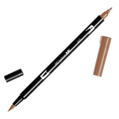 Tombow - ABT Dual Brush Pen - 977 Saddle Brown