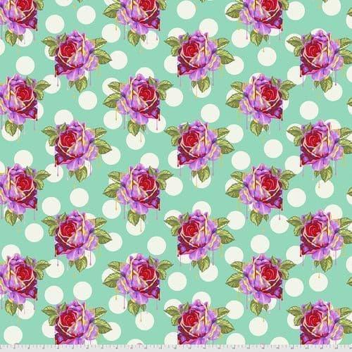 Tula Pink - Curiouser & Curiouser - 50cm - Painted Roses - Wonder
