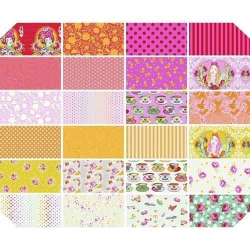Tula Pink - Curiouser & Curiouser - Fat Quarter Bundle - Wonder