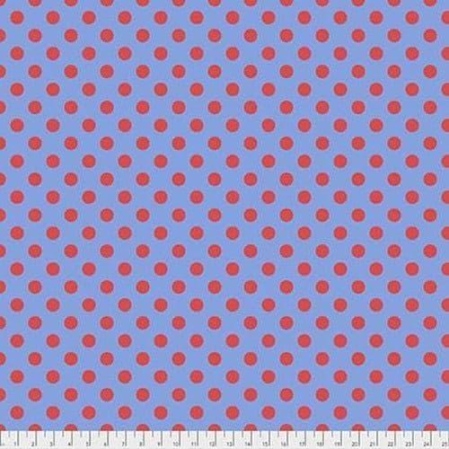 Tula Pink Fabric - True Colours - Pom Poms - Lupine