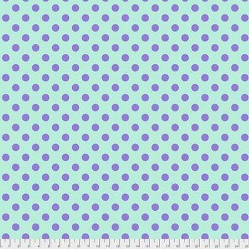 Tula Pink Fabric - True Colours - Pom Poms - Petunia