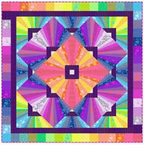Tula Pink - True Colours - Solar Flare Quilt Kit