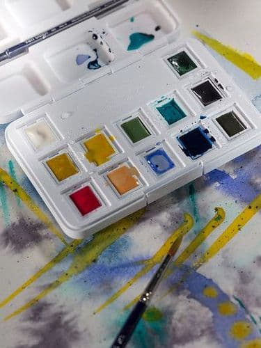 Van Gogh - Watercolour Set - Muted