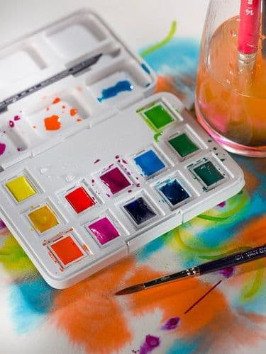 Van Gogh - Watercolour Set - Vibrant Colours
