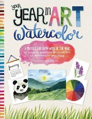 Your Year in Art : Watercolor - Kirsten Van Leuven