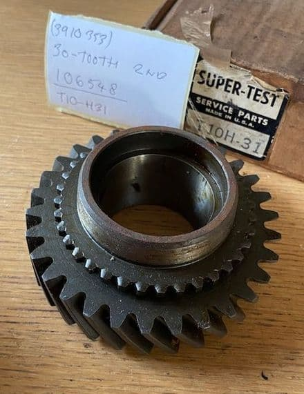1960-63  Borg Warner T-10  H-31   30-Tooth  SECOND GEAR   new