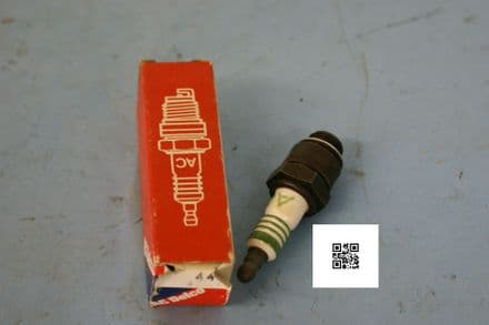 1961-1968 Corvette 283 Small Block AC44 Spark Plug, New In Box