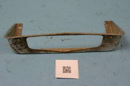 1963-1967 Corvette C2 Rear License Plate Surround, Used Poor