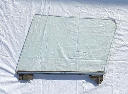 1964-1967 C2 Coupe,LH DOOR GLASS/WINDOW W/Sash,Scratched,Used