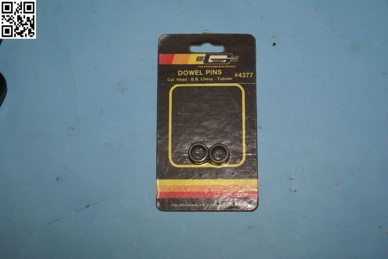 1965-1997 Cylinder Head Dowel Pins Big Block Chevy, MG4377, New,Box A
