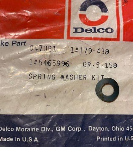 1965-82 Brake Pivot Spring Washer ,GM 5465996,New