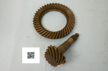 1967 Chevy 12-bolt Diff Gears 3862693 3862689 13:43 3.30:1 , Used Fair