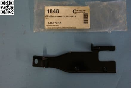 1968-1974 Corvette C3 Ignition Shield Bracket Top Big Block BB Left Hand, New, Box C