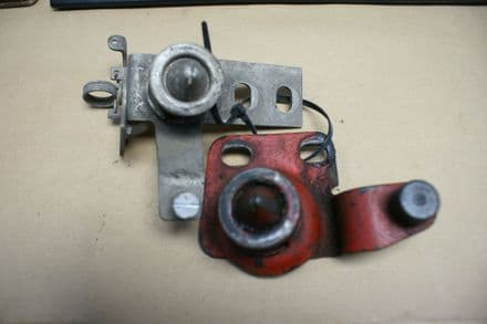 1968-1976 C3 Corvette,Pair 3930181  3966624 Lower Hood Pop up Latches,Used