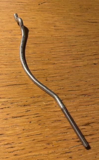 1969-82 C3  ROD   RH door handle opening GM 9720872 NOS,New GM