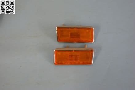 1973-1979 Corvette C3,Front Side Marker Set,New,Box B