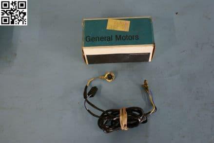 1977-1982 Corvette C3 Lock Cylinder Alarm On/Off Switch & Harness, New, Box B