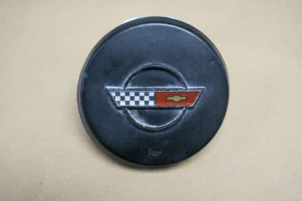 1984-1988 C4 Corvette,Horn Button W/Emblem,GM 9768538/9768537,Used
