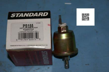 1984-1988 Corvette C4 Oil Pressure Gauge Switch, Standard PS155, New In Box