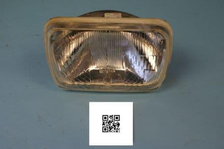 1984-1996 Corvette C4 LH Rule-of-Road Headlamp, Used Fair