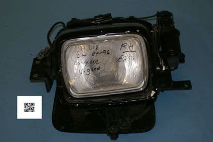 1984-1996 Corvette C4 RH Headlamp Assembly LH Dip, Used Good