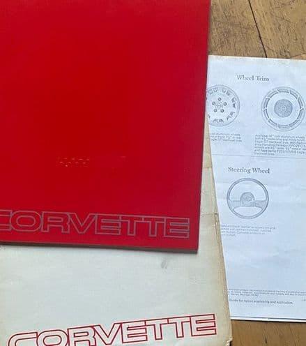 1984  C4  58 -page  Brochure   in Envelope  B84B