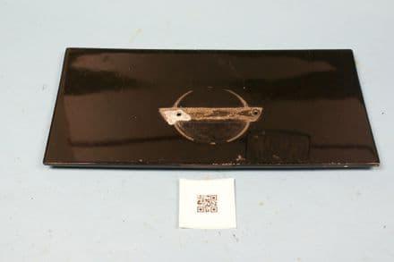1986-1996 Corvette C4 Black Fuel Gas Door Lid GM #14047485, Used  OK