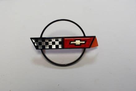 1988-1989 C4 Corvette,Hub Cap Emblem,GM 10055342,New