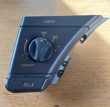 1990-1991 CORVETTE C4 10098487 SWITCH Headlamp , FOG  & IP used