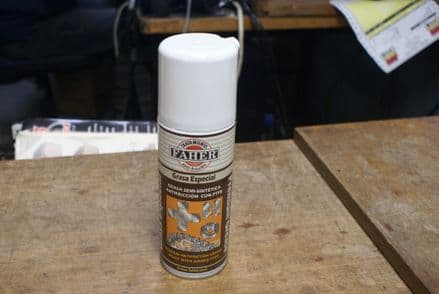 Anti-Friction Grease Spray W/PTFE,Faher,New