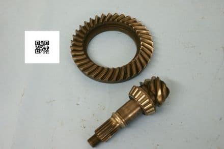 Dana 10-bolt 7/36 5.14:1 Gear, AJ 178RF- 8620, AJ 178PF 8620, Used Fair