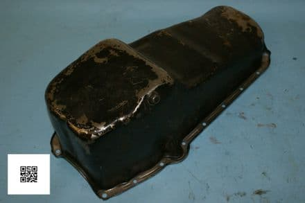 GM 350 Goodwrench Oil Sump Pan, Used Poor
