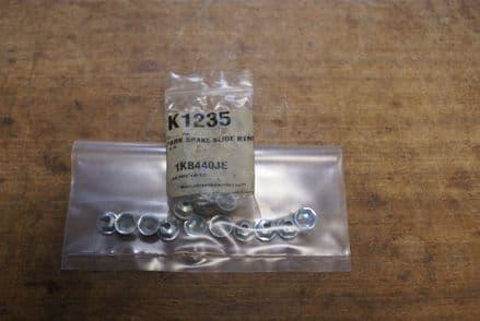 Park Brake Slide Retainer Nuts 10pcs,K1235,New
