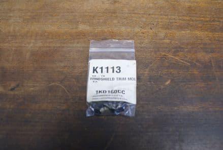 Windshield Trim Molding Screws 6pc,CA K1113,New