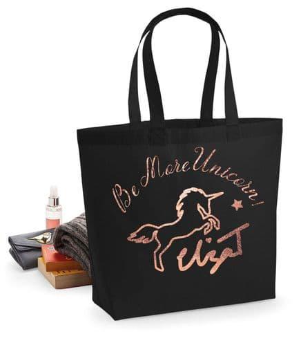 Eliza T Be More Unicorn Tote Bag