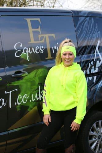Eliza T Hi Viz & Reflective Headband - Electric Yellow