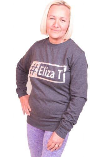 Eliza T Slogan Sweater