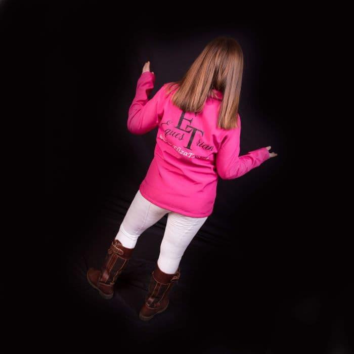 Eliza T Softshell Warm  Up Jacket - Hot Pink