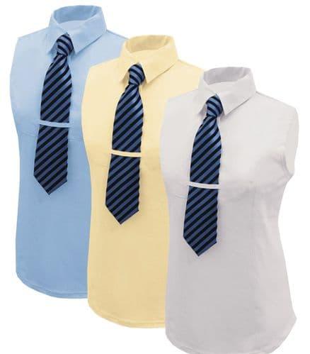 Equetech Hexatec Show Shirt - Buttermilk
