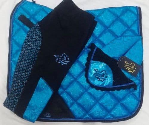 SS20 Eliza T 'Flourish' Pad - Blue Topaz