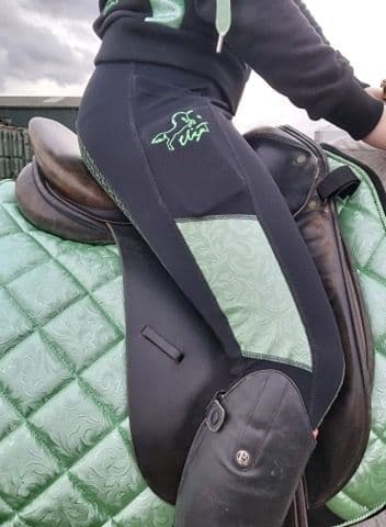 SS20 Eliza T 'Flourish' Riding Jeggings with Full Seat - Peppermint *REDUCED FROM £49.95*