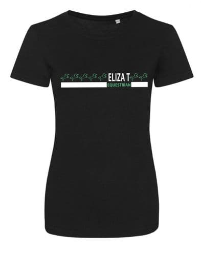 SS20 Eliza T Peppermint Signature Tee - Black
