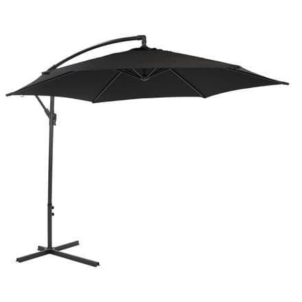 Bentley Garden 3M Hanging Banana Patio Garden Umbrella Parasol -B