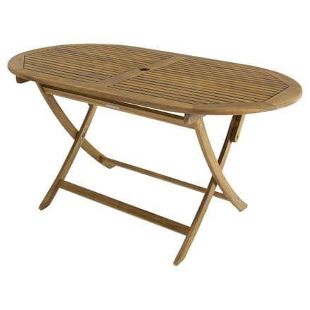 Charles Bentley FSC Acacia Hardwood Oval Table